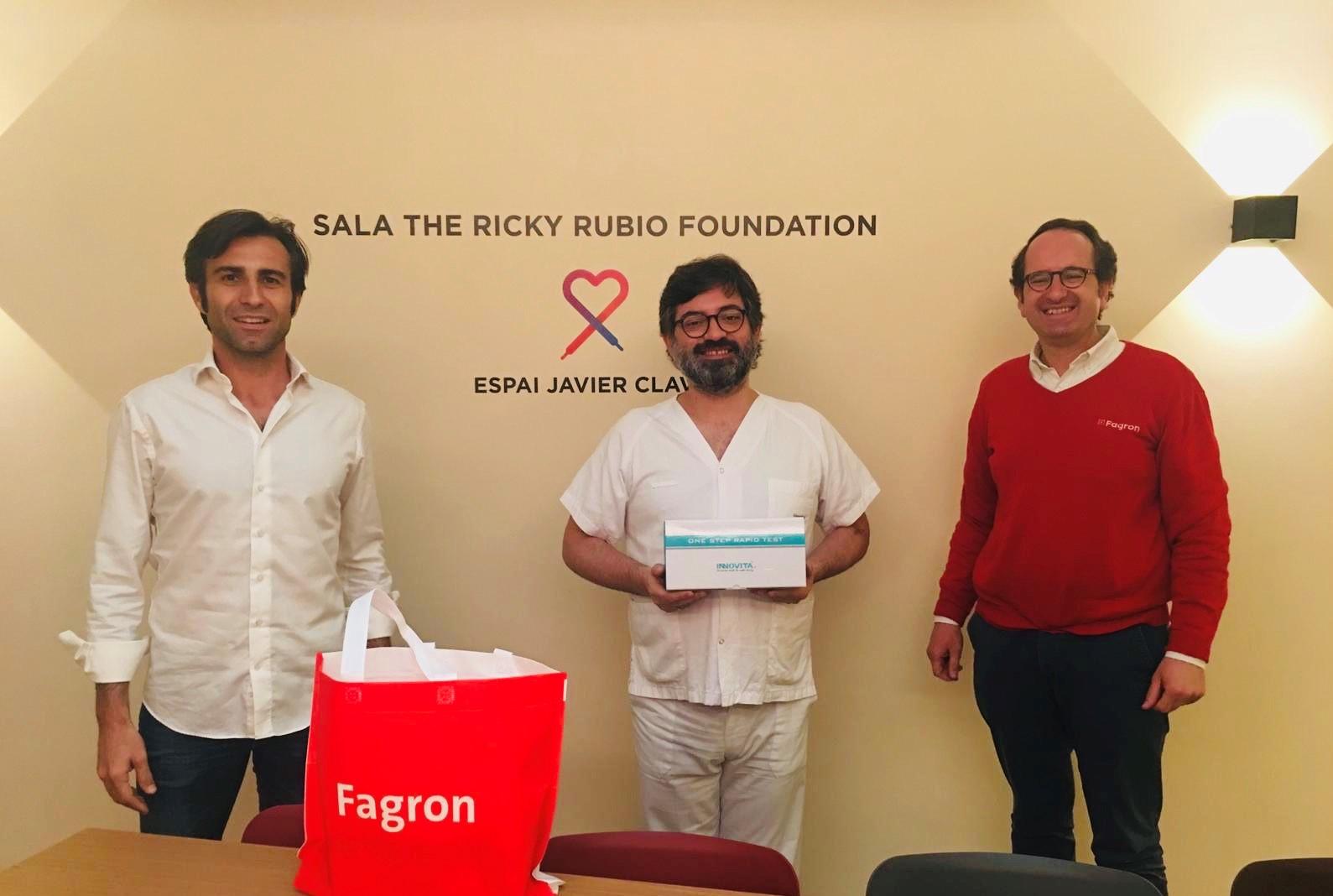 Luchamos contra la COVID-19 de la mano de Ricky Rubio Foundation